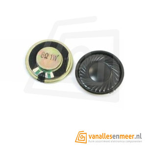 Round Micro Speaker Diameter 28mm 8R 1W