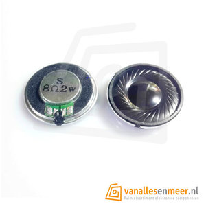 Round Micro Speaker Diameter 28mm 8R 2W