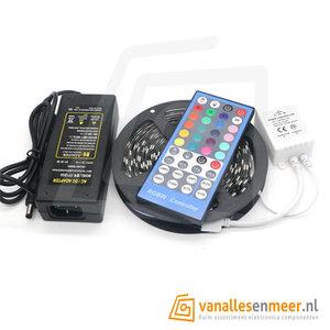 ledstrip RGB+WarmWit  5 meter waterproof ir-set 300led/m
